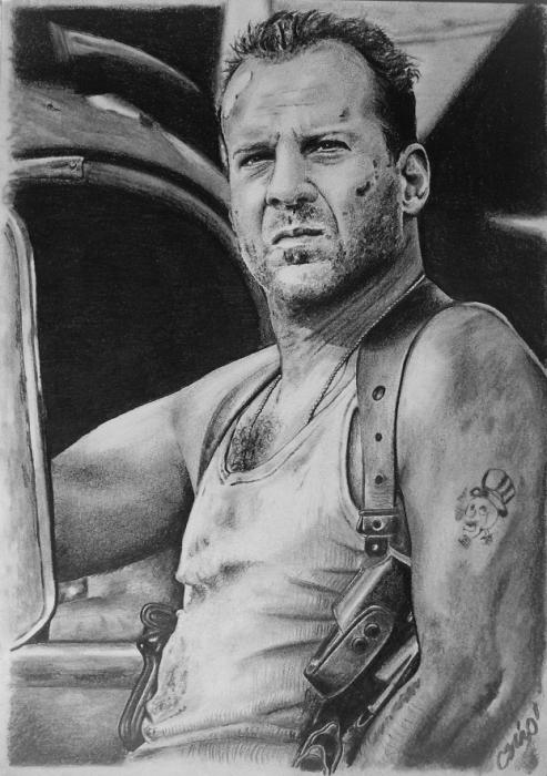 Bruce Willis by csino